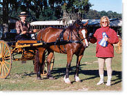 Lynda & Atlanta with dear friend Lynn at SWA Pony Classic '99